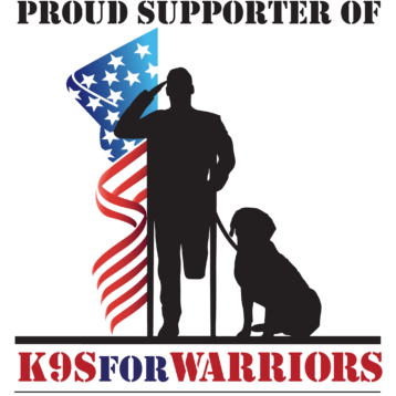 Proud Support of K9s for Warriors