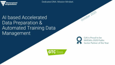 AI based Accelerated Data Preparation & Automated Training Data